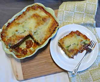 What's For Dinner Wednesday: Beef & Spinach Lasagna