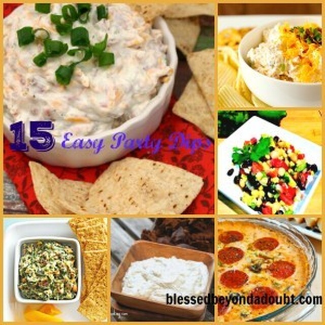 15+ Easy Party Dips for your Super Bowl Party!