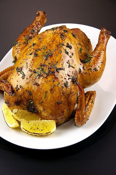 Whole Roasted Chicken Recipe
