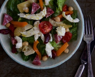 antipasto salad – a cinch to make
