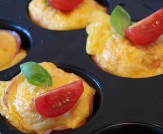 Scrambled Eggs Breakfast Muffin Recipe