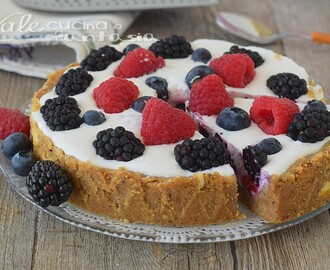 CROSTATA YOGURT E FRUTTI DI BOSCO