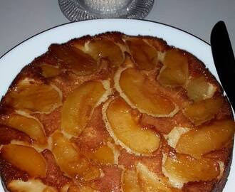 Apple-Cinnamon Upside-Down Cake | Apple Upside-Down Cake Recipe