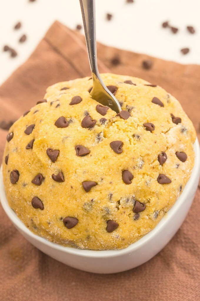 Healthy Edible Breakfast Cookie Dough for one