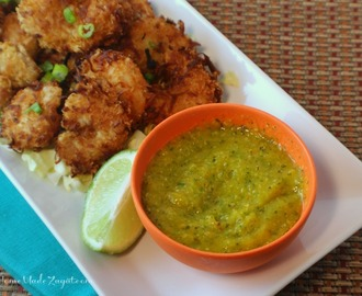Coconut Shrimp with Spicy Mango Chutney