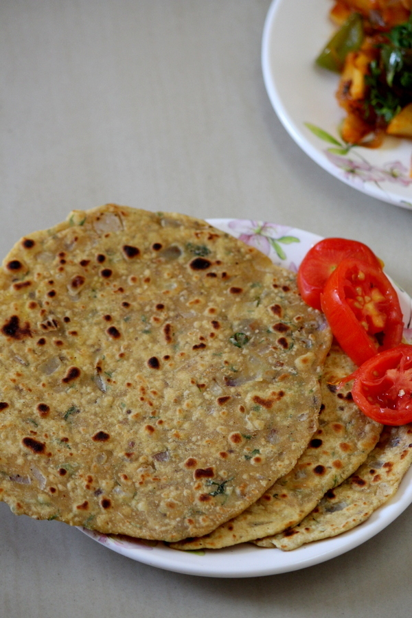 Missi Roti Recipe Punjabi Style, How To Make Missi Roti