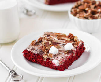 Red Velvet Mississippi Mud Cake