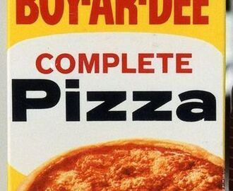 Boxed Pizza Mixes . . . here's what I think.