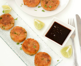 Aloo Tikki Recipe | Indian Style Potato Patties Recipe | Aloo Tikki - Easy Snack Recipe