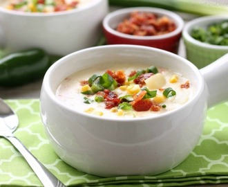 Creamy Chicken and Corn Chowder (+10 More Scrumptious Soups!)