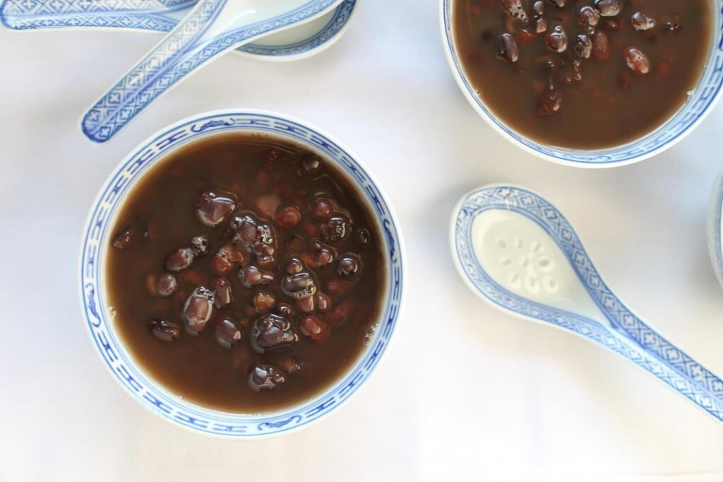 chinese red bean soup recipe