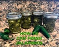 How to jar fresh jalapenos