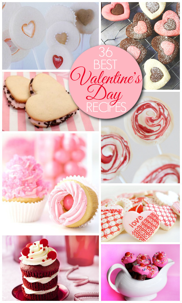Valentine's Day Recipes – Desserts & Treats