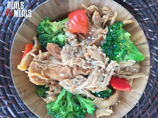 Slow Cooker Teriyaki Chicken with Vegetables