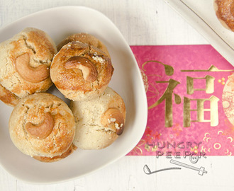 Cashew Nut Cookies For Chinese New Year