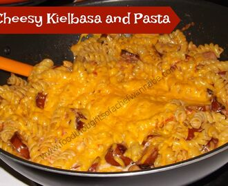 Cheesy Kielbasa and Pasta Dinner