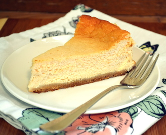 Käsekuchen – Quark German Style Cheesecake