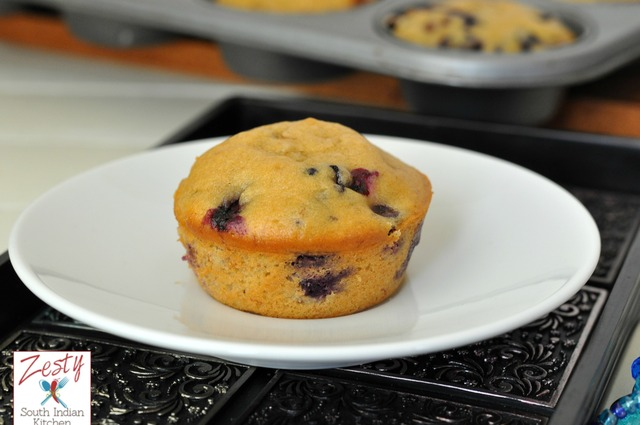 Blueberry Banana Muffins and Book Review