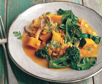 Thai Red Curry by Vegan Under Pressure by Jill Nussinow
