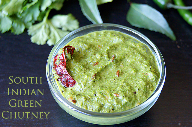 South Indian Green Chutney