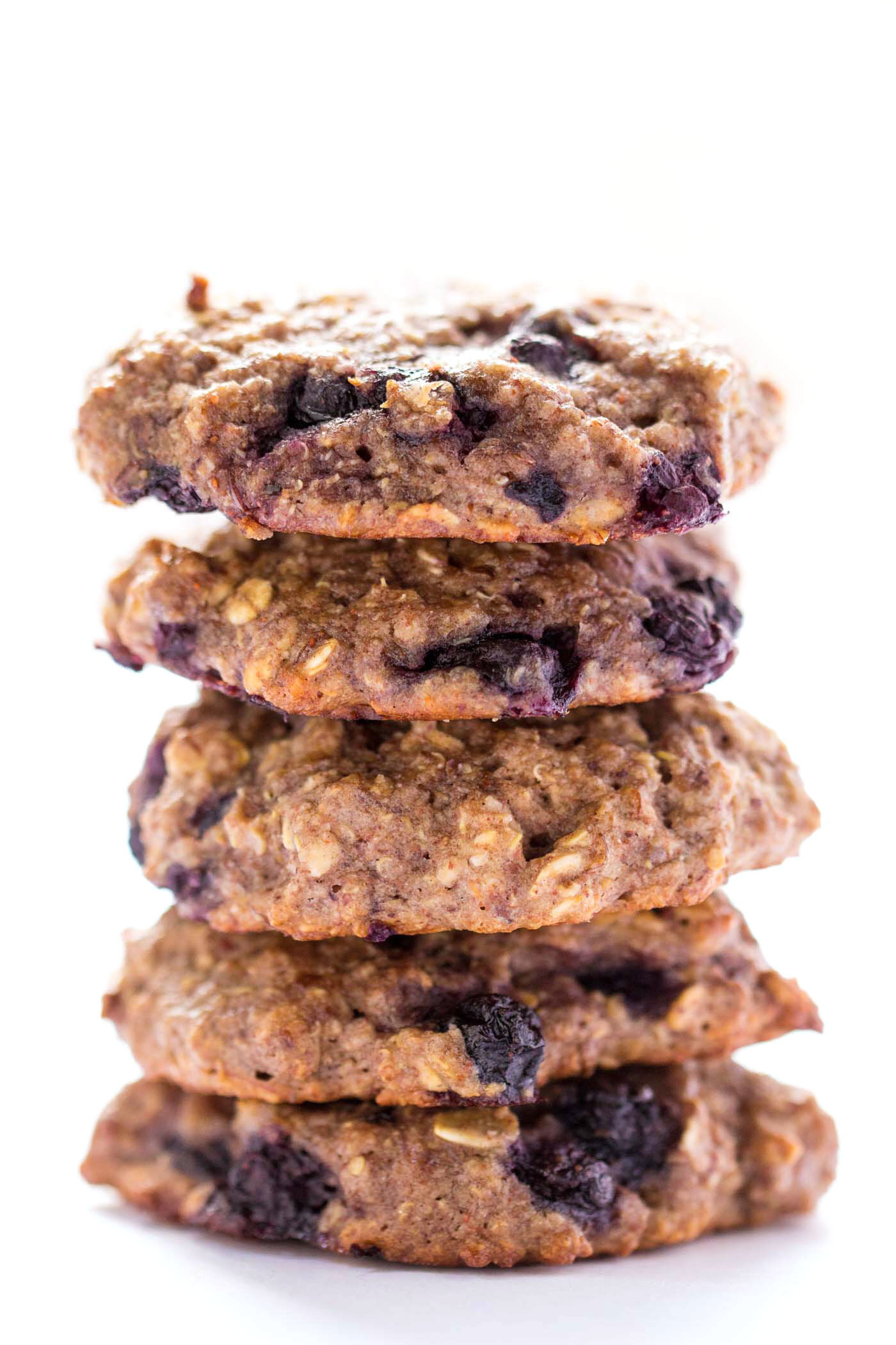 Blueberry Muffin Quinoa Breakfast Cookies