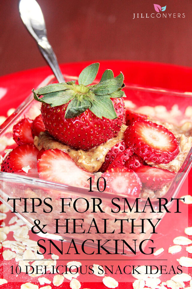 10 Tips for Smart and Healthy Snacking