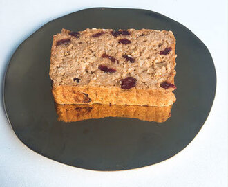 Appel Kaneel Cranberry Havermoutcake