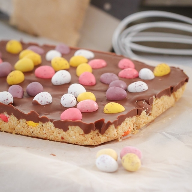 Thermomix Easter Egg Slice