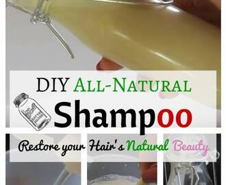 DIY All-Natural Shampoo: Restore your Hair's Natural Beauty