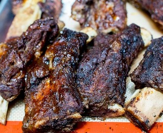 Slow Cooker Texas BBQ Ribs