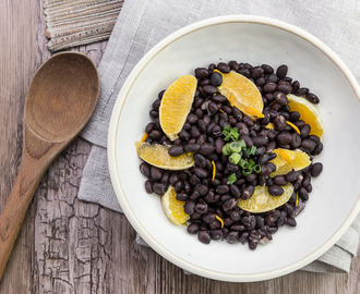 Easy Instant Pot Black Beans With Bacon