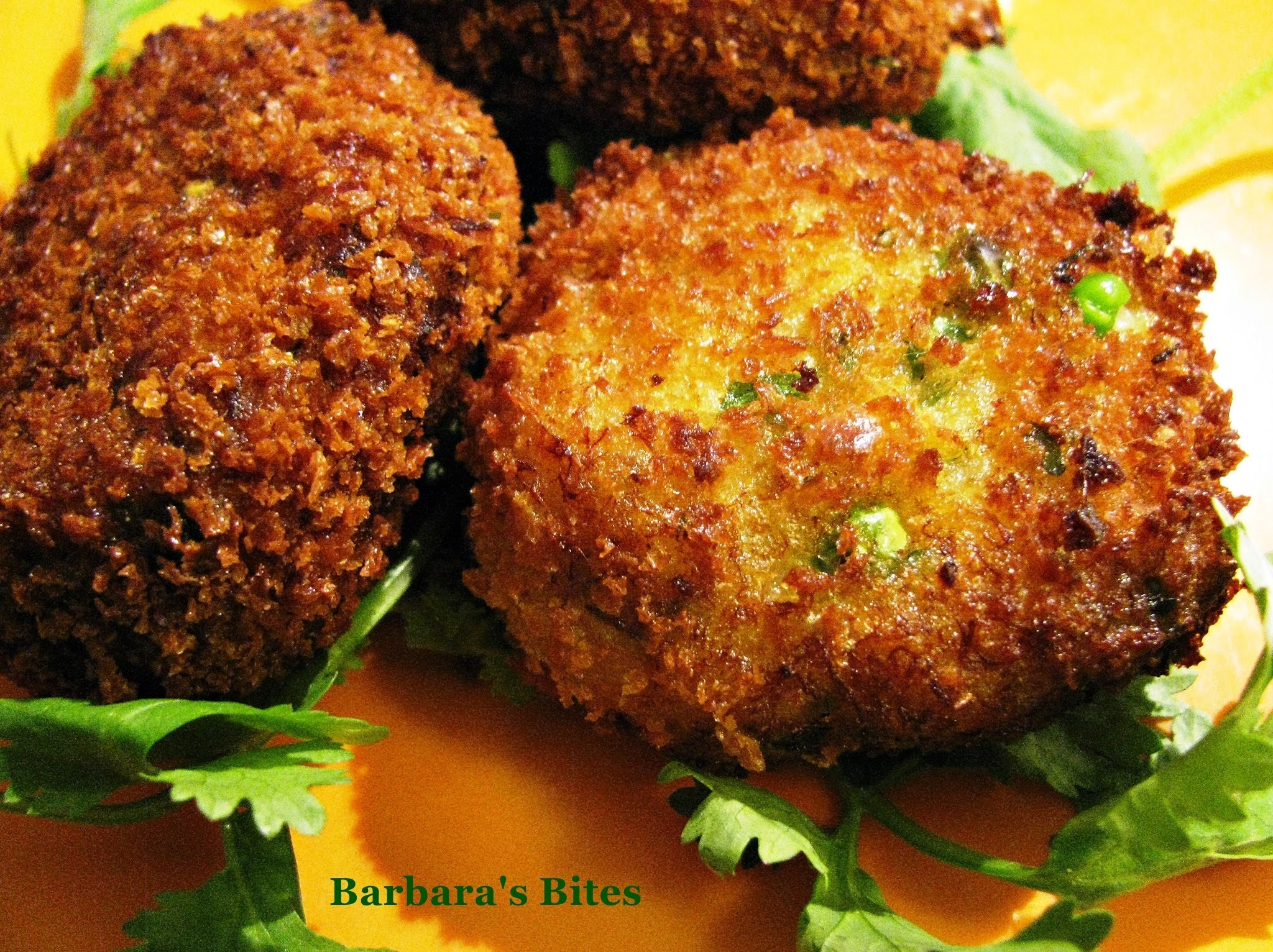 Indian Style Fish Cakes