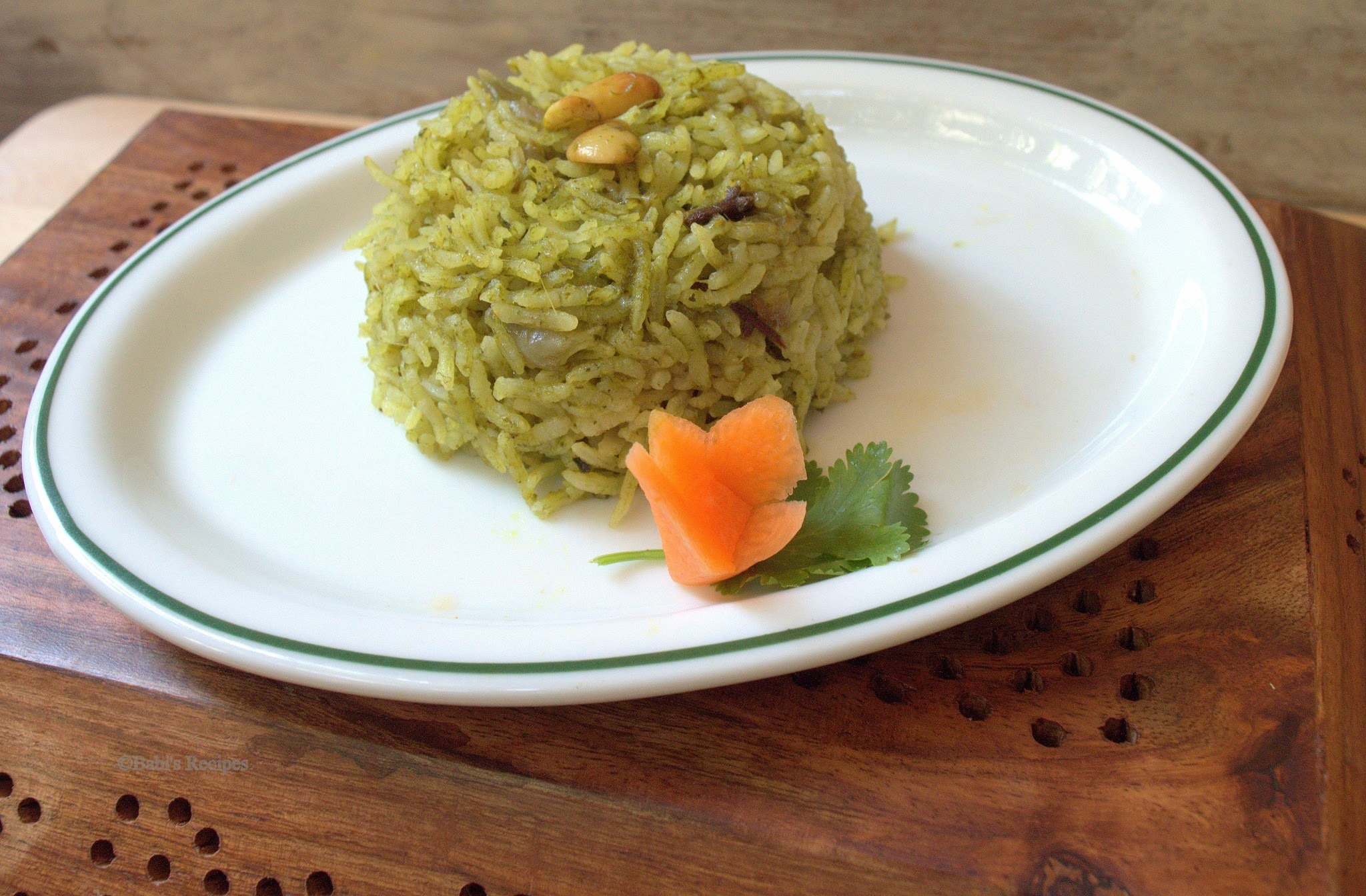 Palak Pulao | Spinach Rice | Easy One Pot Meal