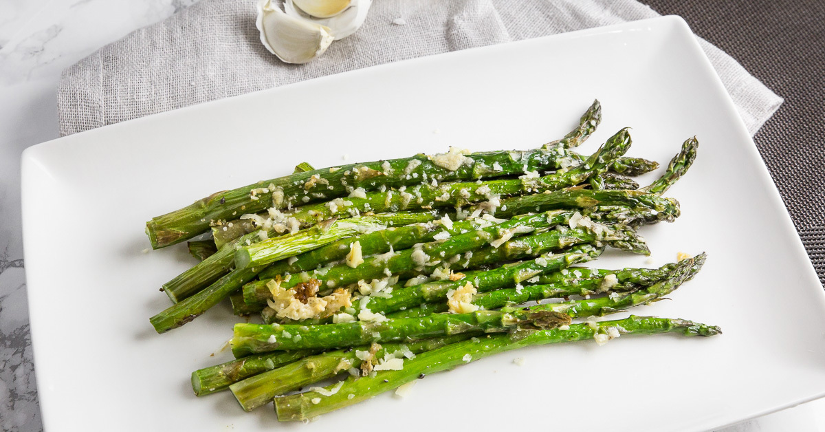 Easy Roasted Asparagus with Parmesan