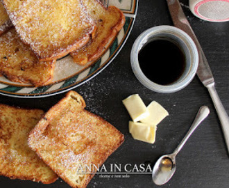 French toast al forno