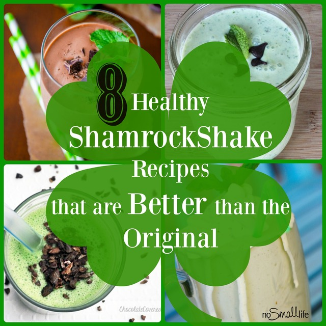 8 Healthy Shamrock Shake Recipes that are Better than the Original