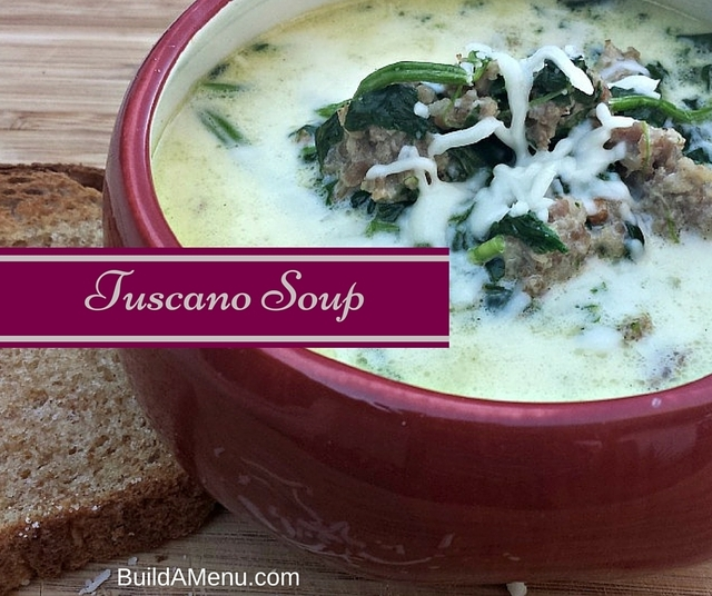 Tuscano Soup – Low Carb and Delicious!
