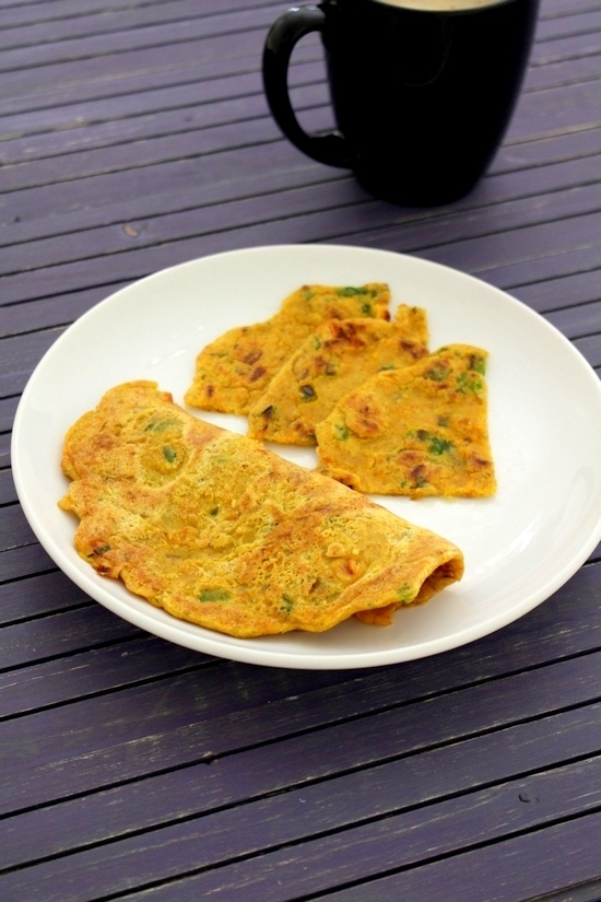 Oats cheela recipe | Besan oats chilla | How to make oats cheela