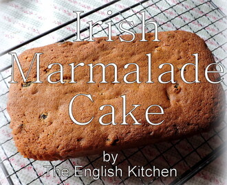 Irish Marmalade Cake