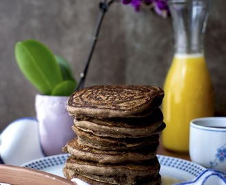 Chocolate Banana Pancakes