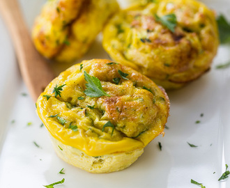 Breakfast Egg & Veggie Muffins