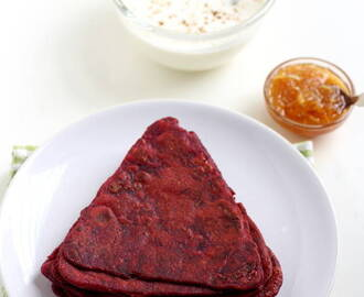 Beetroot Paratha Recipe, How to make Beetroot Paratha