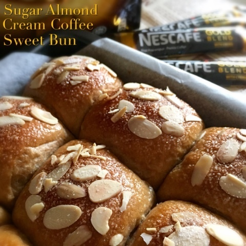 Sugar Almond Cream Coffee Sweet Bun