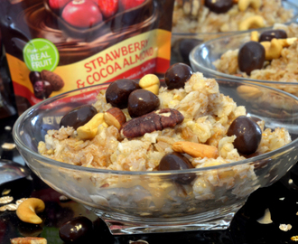 DOVE® Chocolate Fruit & Nut 7 Grain Breakfast Recipe