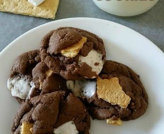 S'mores Cake Cookies