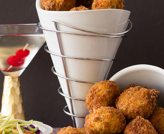 Fried Stuffed Potato Balls