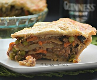 Steak & Guinness Pie