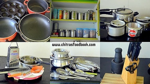 Kitchen Utensils & Tools List For Home With PDF