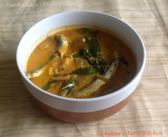 Kumbalanga - Mathi Curry / Sardine Curry With Ash Gourd