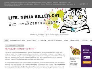 Life, Ninja Killer Cat / Recipes